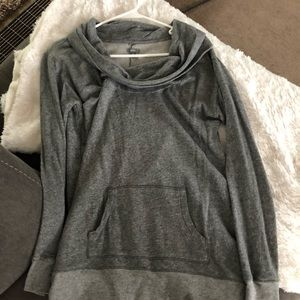 Aerie funnel neck sweatshirt